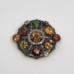 Victorian Brooch Set