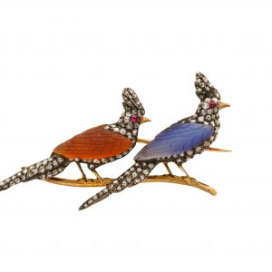 Third Republic Bird Brooch
