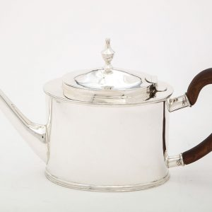 Contemporary Reproduction of a John Vernon Silver Teapot