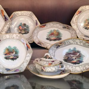 George III Period – Spode Porcelain Ornithological Service