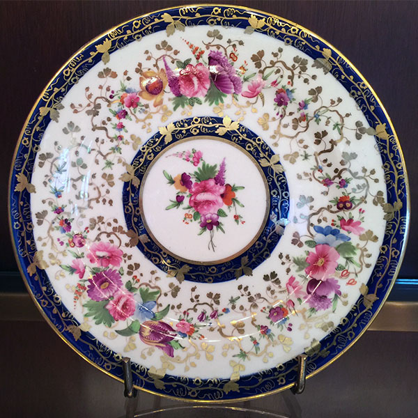 George IV Period – Porcelain Service Single Plate
